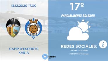 PREVIA CD JAVEA VS CF GANDIA