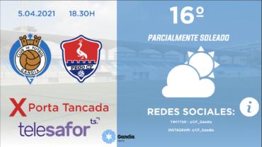PREVIA CF GANDIA – PEGO CF